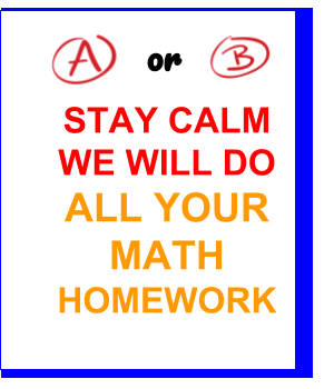 Pay to have math homework done
